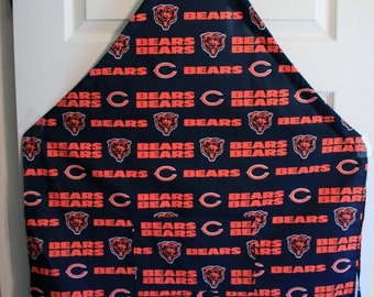 Chicago Bears Apron. Adjustable ties to fit any size. Pocket in front.