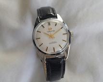 Vintage Manual Wind Timestar Men's Dress Watch - Circa 1950s - 17 Jewels, Swiss Movement