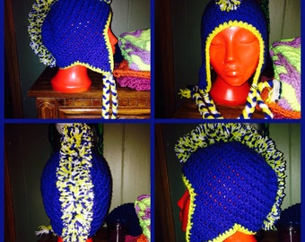 Super Fan mohawk hat