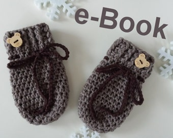 Häkelanleitung Babyhandschuhe / E-Book PDF