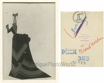 Woman in dress costume antique photo montage France