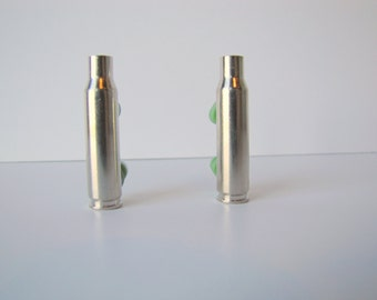 Silver Casing - Nickel Plated  Casing - Silver Bullet Shell - Nickel plated Bullet Casing - Brass - 308 rifle casing - 308 casings