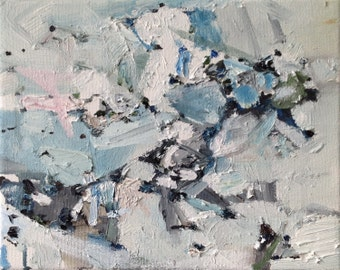 """PRINT REPRODUCTION of  of the abstract work """"Formation"""" printed on paper"""