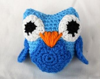 """PATTERN 5"""" Crochet Owl"""