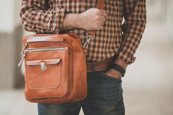 James B Overnight travel bag in Full Grain Vachetta Tan Leather Bag travel Bag,Business overnight bag,travel bag,man overnight bag,Business
