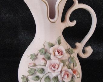 Vintage Lefton porcelain vase