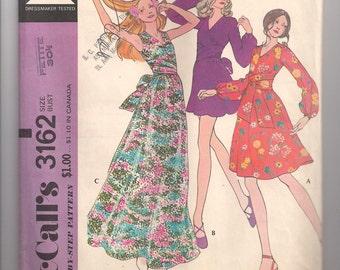 Vintage McCalls 3162 size 6 Dress and Dance Pants