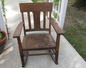 Popular Items For Antique Oak Chairs On Etsy