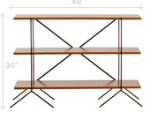 The Bungalow Retro Mid-century style modular shelving and storage units. Ask about other sizes and configurations.