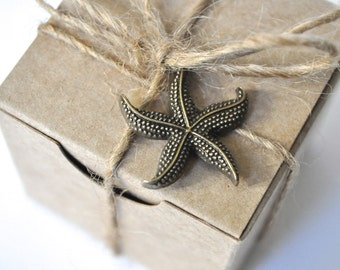 Beach wedding, destination wedding, beach theme, wedding favours, starfish favors, wedding decor, beach wedding, wedding favors, set of 10