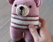 SALE 30% OFF Donato bear amigurumi baby rattle
