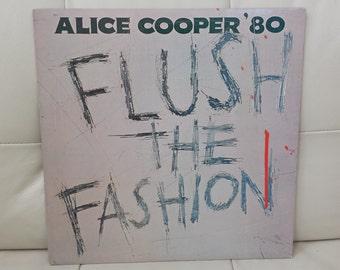 """Alice Cooper- """"Flush The Fashion"""" vinyl record"""