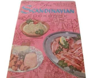 Vintage 1960's Scandinavian Recipe Booklet, Vintage Swedish Cookbook, Recipes