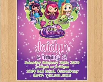 Little Charmers Birthday Invitation - Printable/Digital File