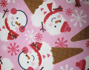 Snowman Snow Cone Pillowcase