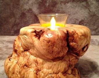 Burly Pine Votive Candle Holder