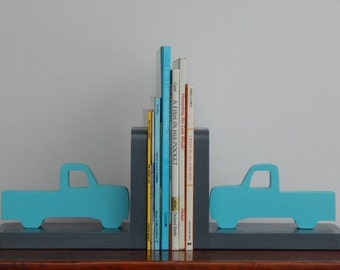 Handmade Truck Bookends - Nursery, Baby or Child's Bookends