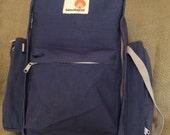 Genuine vintage HIMALAYAN blue camping travel backpack framed