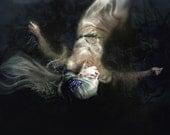 "Portrait ""Gone To Thy Watery Grave""--photographic print of the drowned Ophelia"