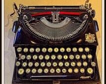 Imperial Typewriter 1937 Print