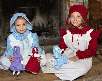 Pioneer rag doll