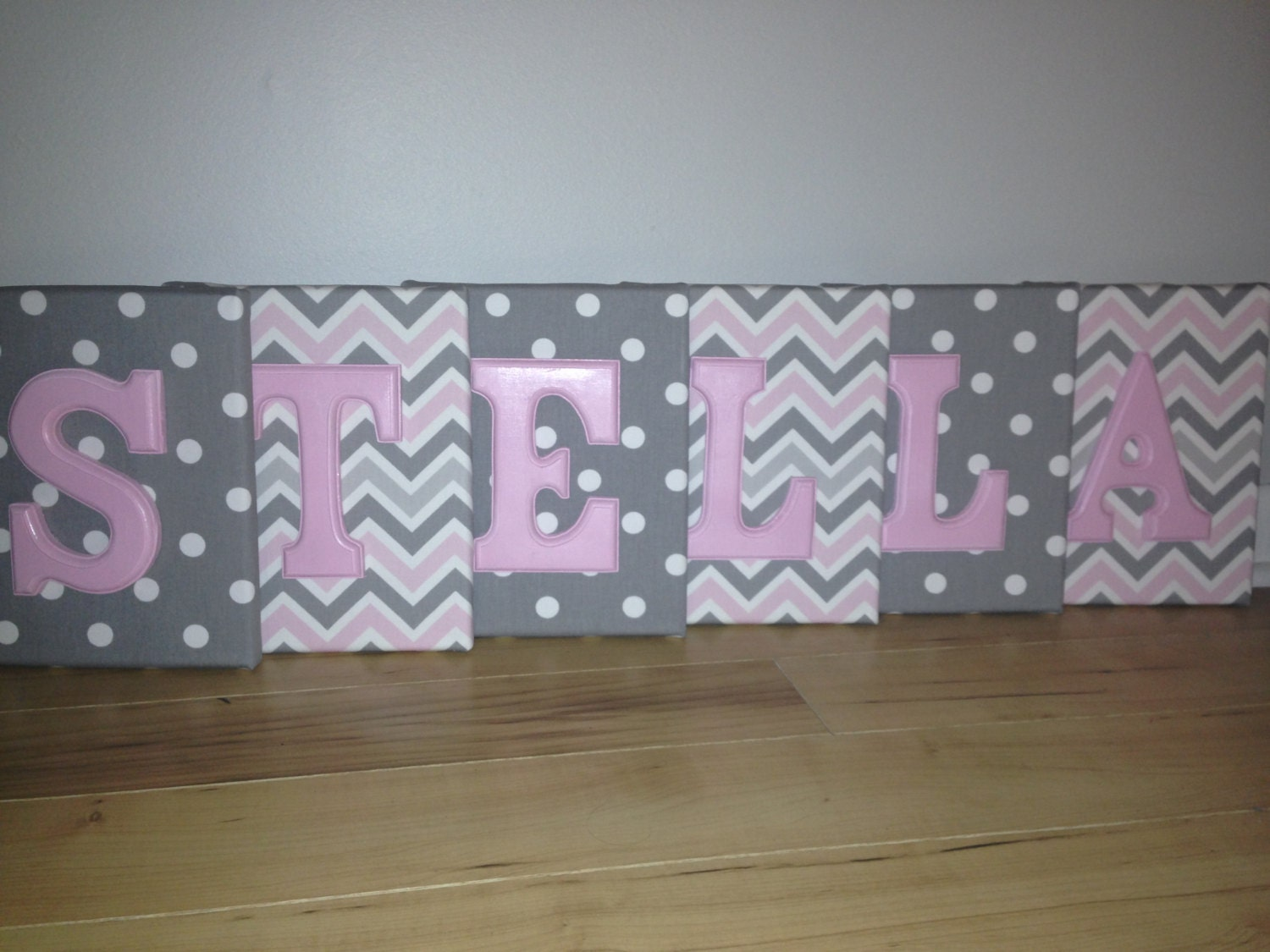 girl wall canvas letters nursery letters decor