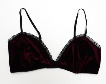Ready to Ship! // Fifi. Velvet Bralette