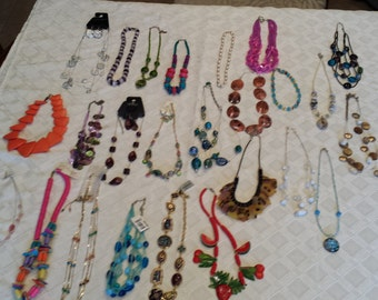 Lot of Assorted Necklaces