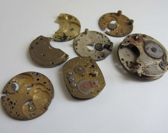 Collection of Vintage Internal Watch Parts LOT002