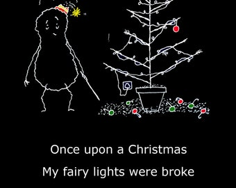Once Upon A Peanut - Christmas Lights