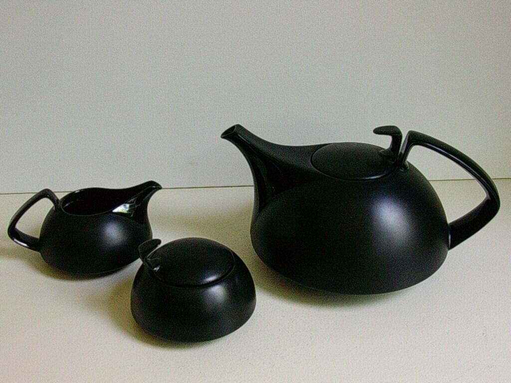 rosenthal tac i walter gropius matte noire black porcelain. Black Bedroom Furniture Sets. Home Design Ideas
