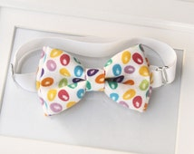 EASTER bow-tie for babies, toddlers, boys, teens - Adjustable neck-strap