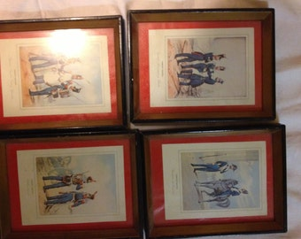 vintage Spanish military prints Ejercito