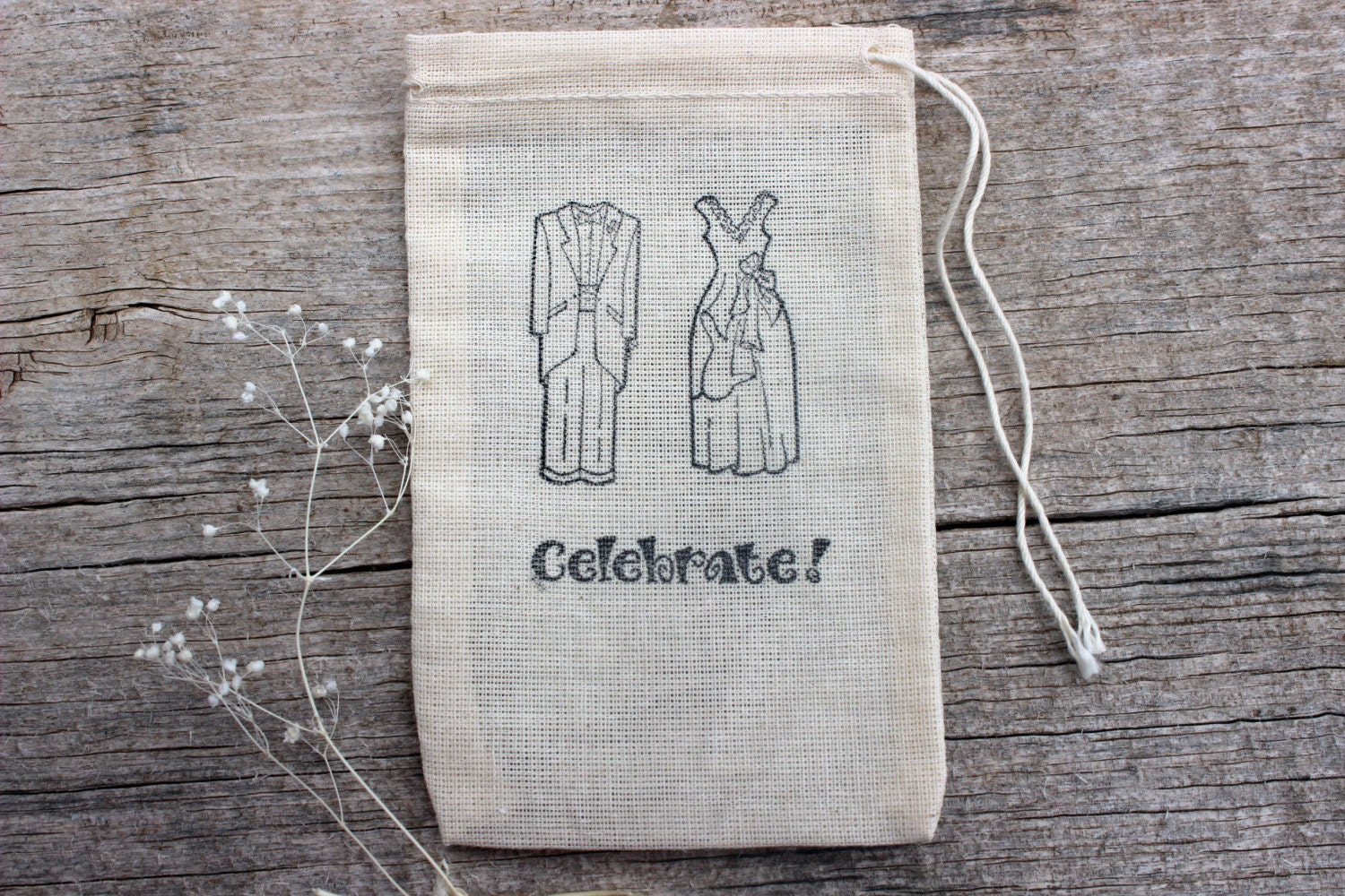 Wedding Gift Bag For Bride And Groom : Wedding Favor Candy Bags Bride Groom by MountainUrsusDesigns