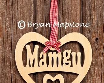 Mamgu (Grand Mother) heart