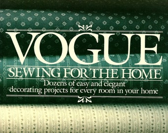 Vogue Sewing for the Home Vintage Softcover Book 186 pages
