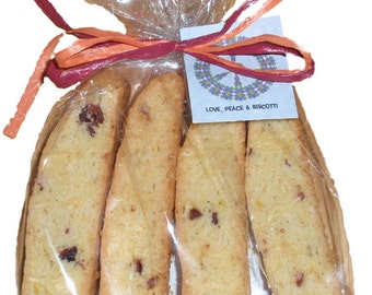 4 Pack Cranberry Almond Biscotti