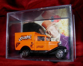 "Willy Wonka and The Chocolate Factory ""Wonka Truck Display""New and Collectible with a Unique Twist!!"