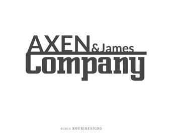 Professional Logo, Premade Logo, Logo Design, Business Logo