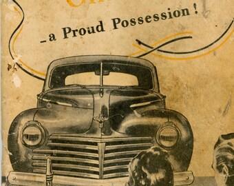 1940 Chrysler Owner's Manual
