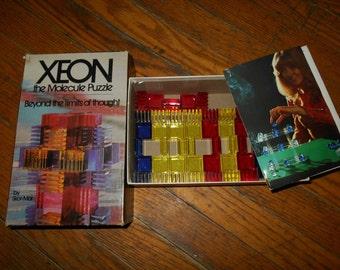 Vintage 1970s Xeon Molecule Puzzle Game - Rare