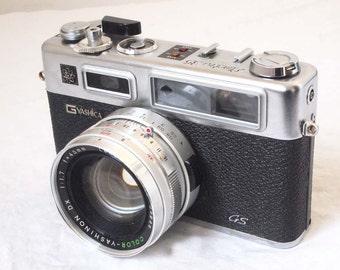 Yashica Electro 35 GS rangefinder camera