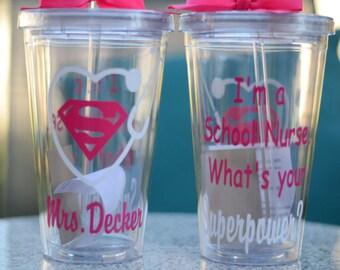 School Nurse GiftPersonalized School NurseSchool Nurse