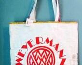 Repurposed Spent Grain Bag Market Tote - Weyermann