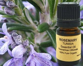 Rosemary Essential Oil (Organic) 5 ml, 10 ml or 15 ml