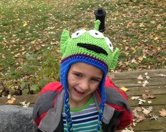 Toy Story Alien Crochet Hat