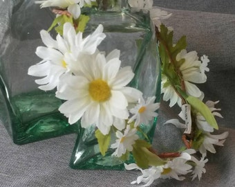 Daisy Flower Crown Head Piece