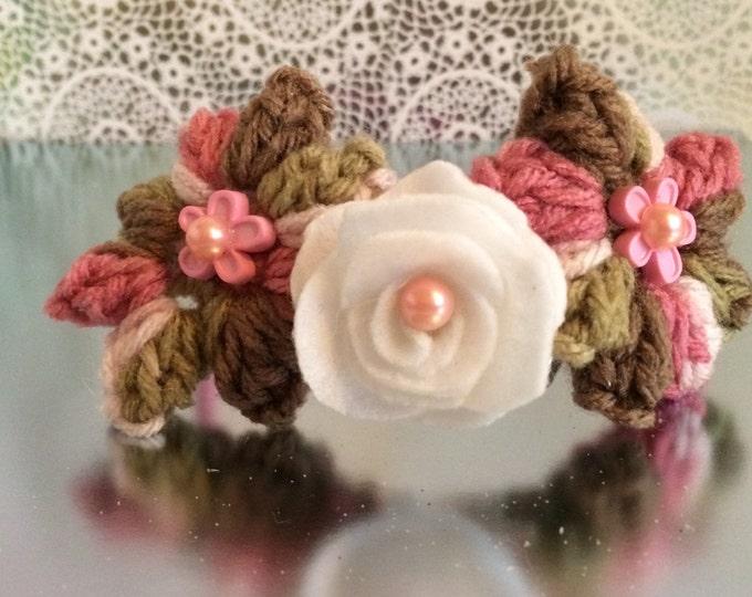 Pink Camo interchangeable 6-piece headband set