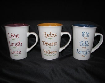 3 Uplifting and Inspirational Coffee Mugs