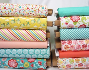 Choose Any Fabric - 1 Yard Increments  - Fancy Free by Riley Blake - Half Yard Increments